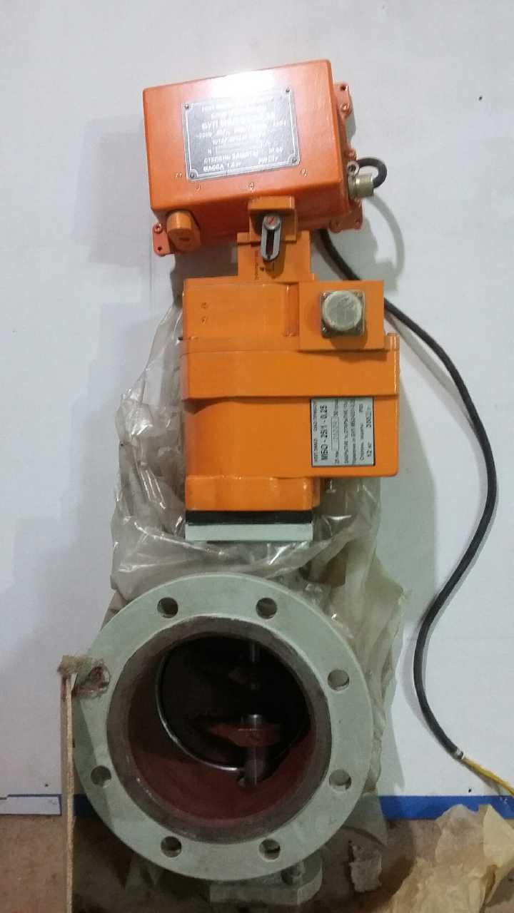 быстродействующий запорный клапан газовый